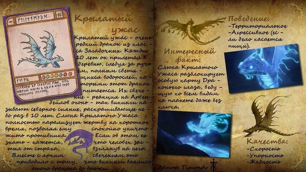 картинки с информацией о драконах монстрах