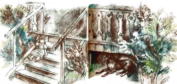кусака иллюстрации к рассказу выбрать