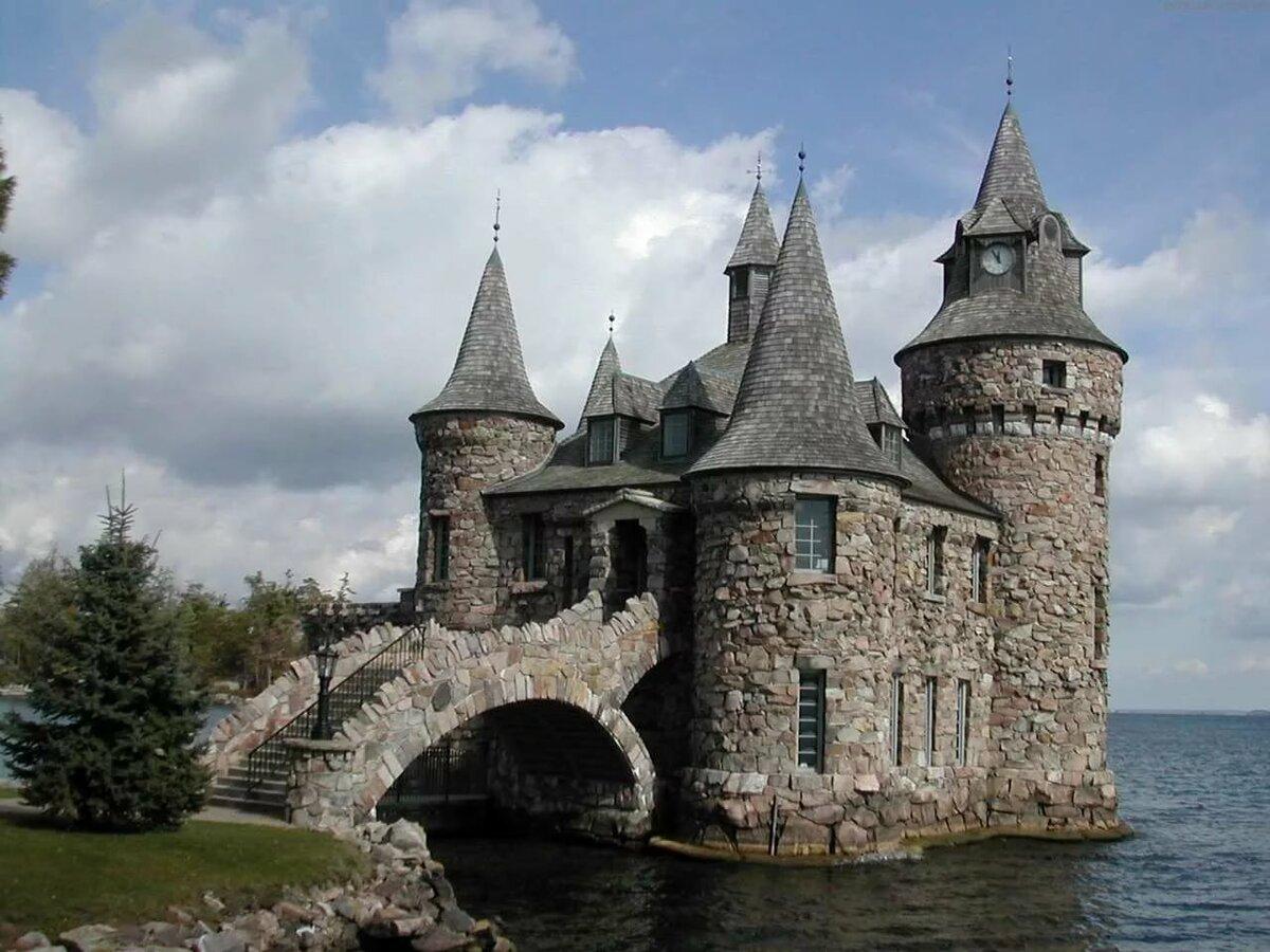 Днем, картинки старинные замки