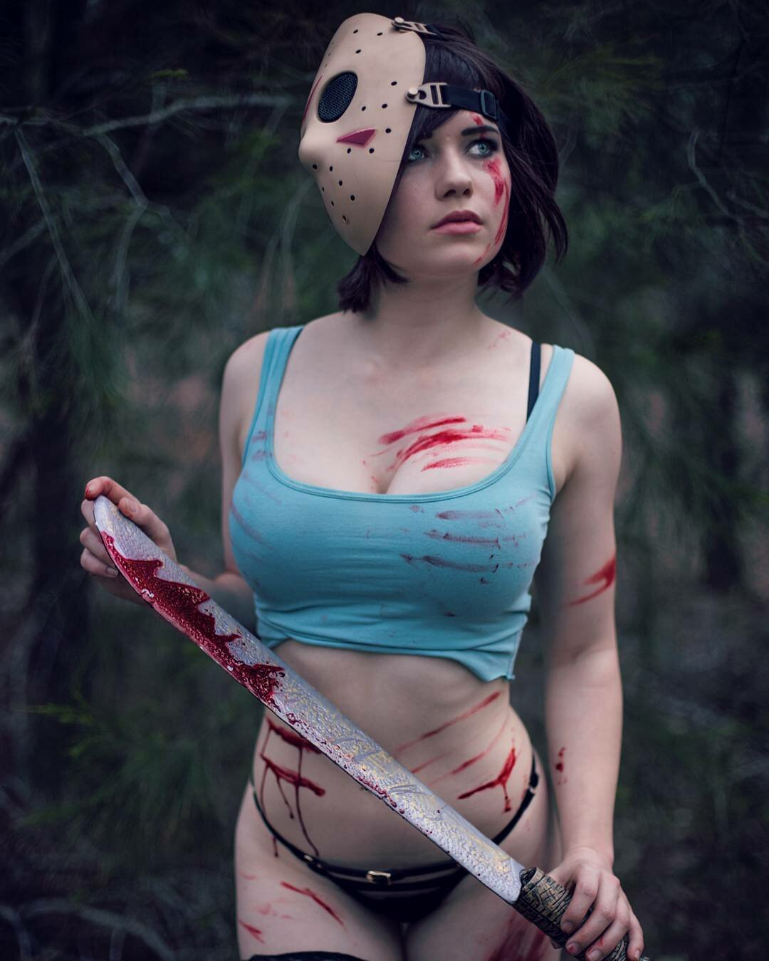 Game cosplay girls naked, interracial reluctant sex tube