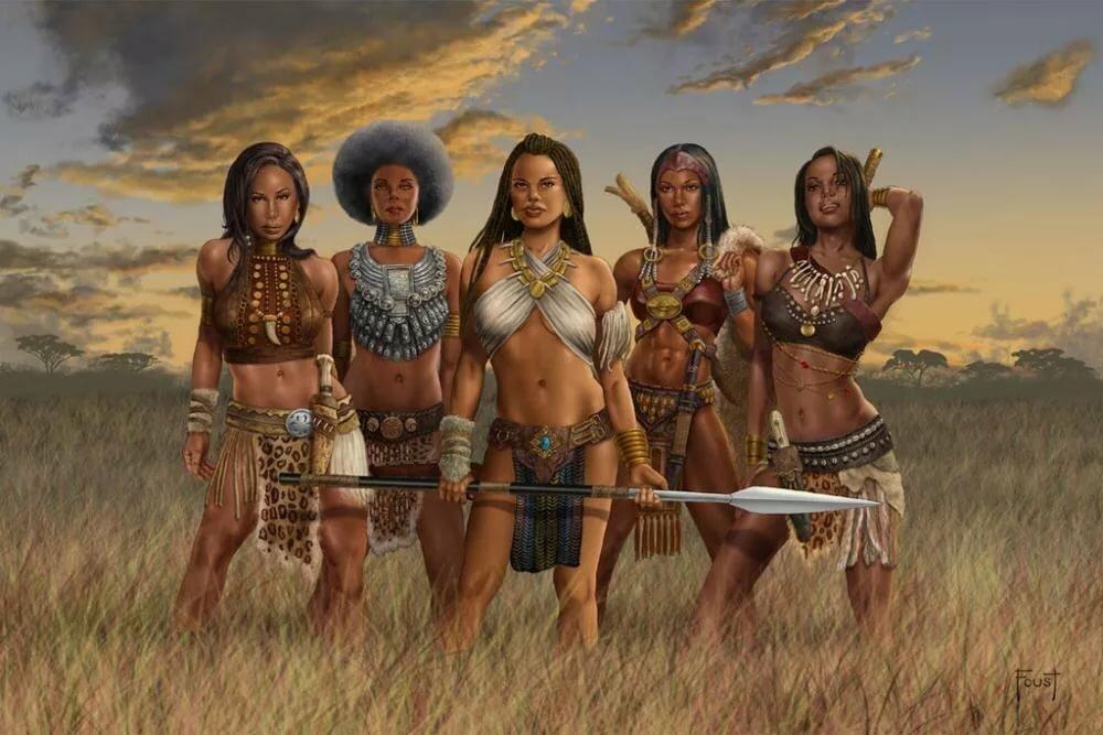 сочетании племя амазонок картинки всех