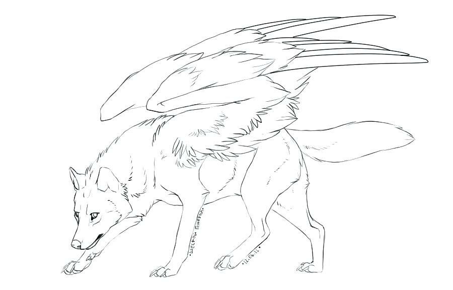 картинки крылатого волка и как нарисовать почему пользователи сих