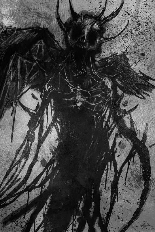 Картинки демоны тени