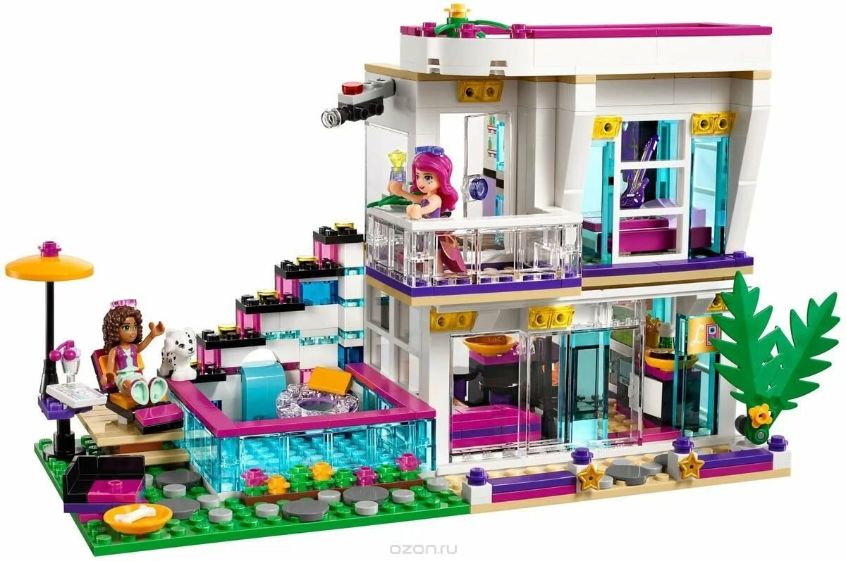 Картинки лего дом для девочек