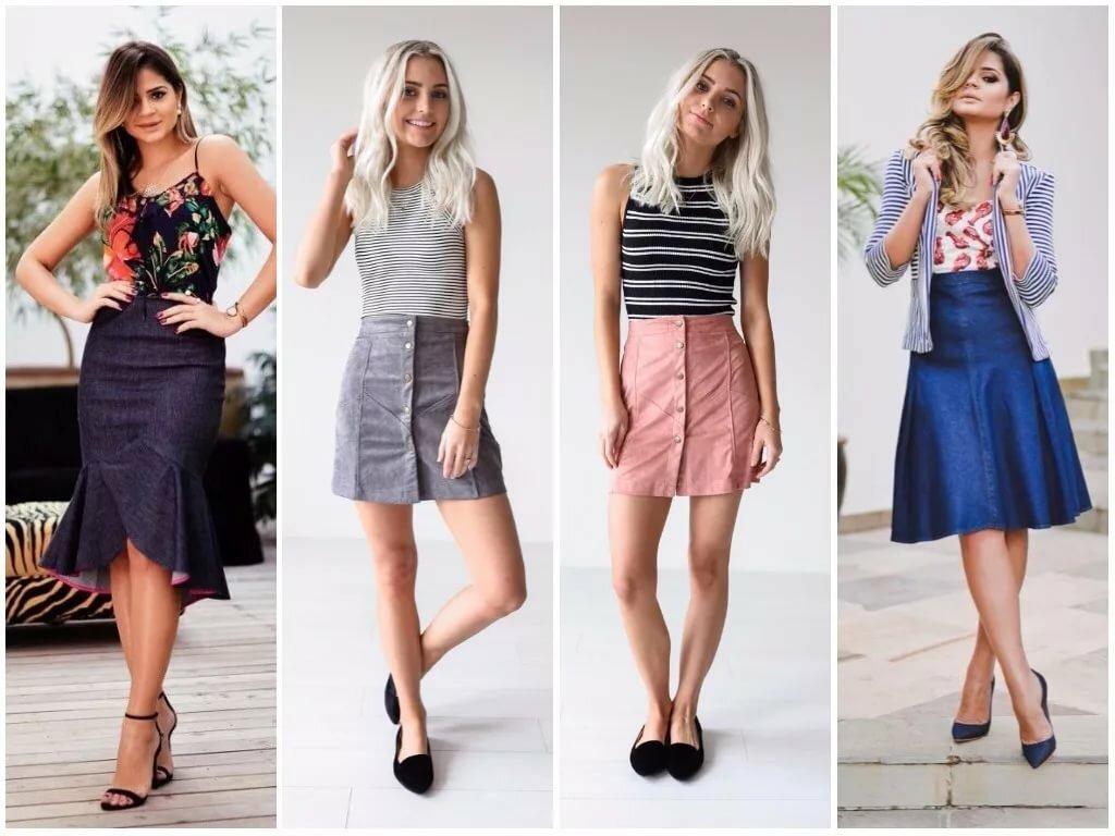 какие в моде юбки фото