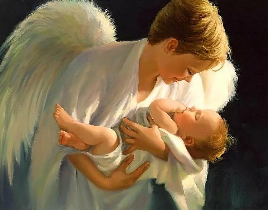 Картинки мать с сыном на небесах