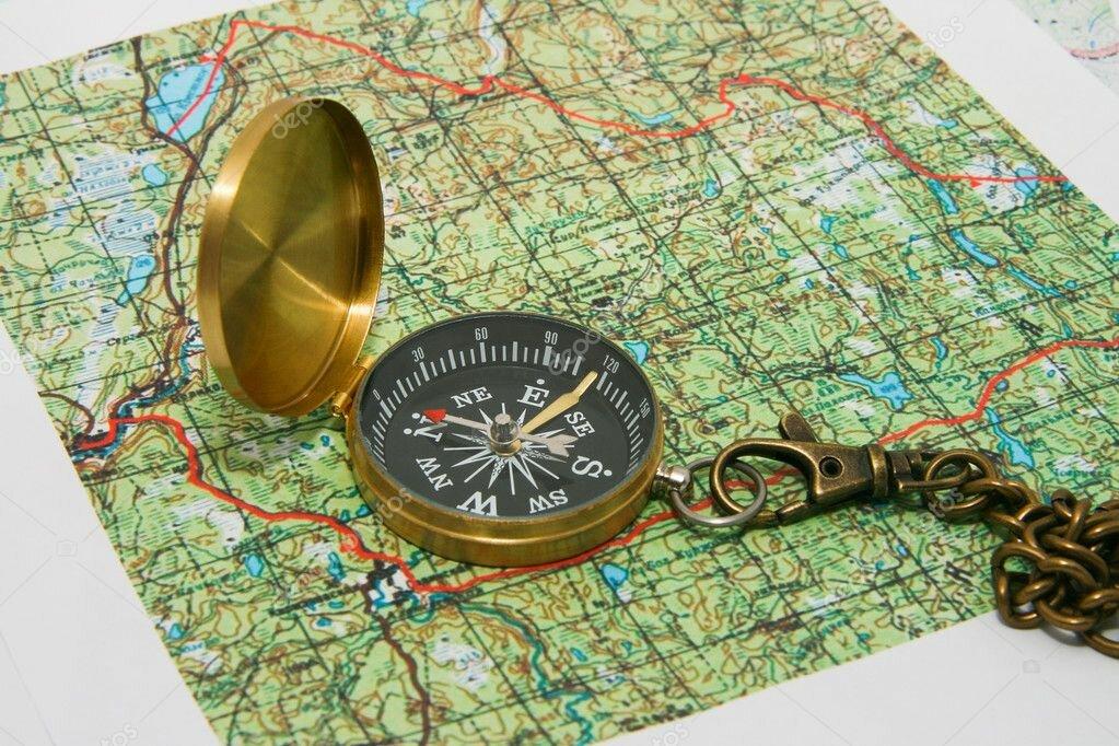 Движущиеся картинка, топографическая открытка