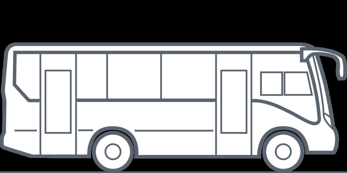 Надписями ожидании, автобус в картинках карандашом