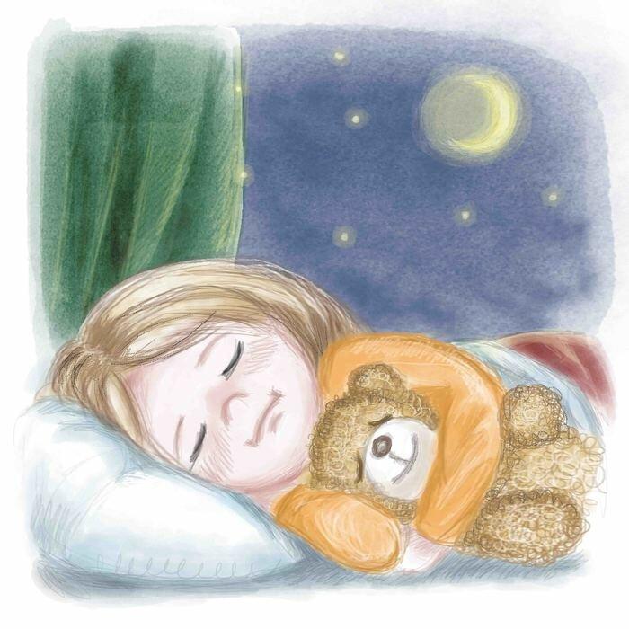 Картинки про сон мультяшные