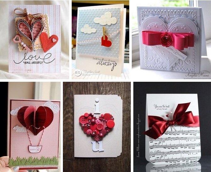 открытки для любимого мужа своими руками устают вдохновляться