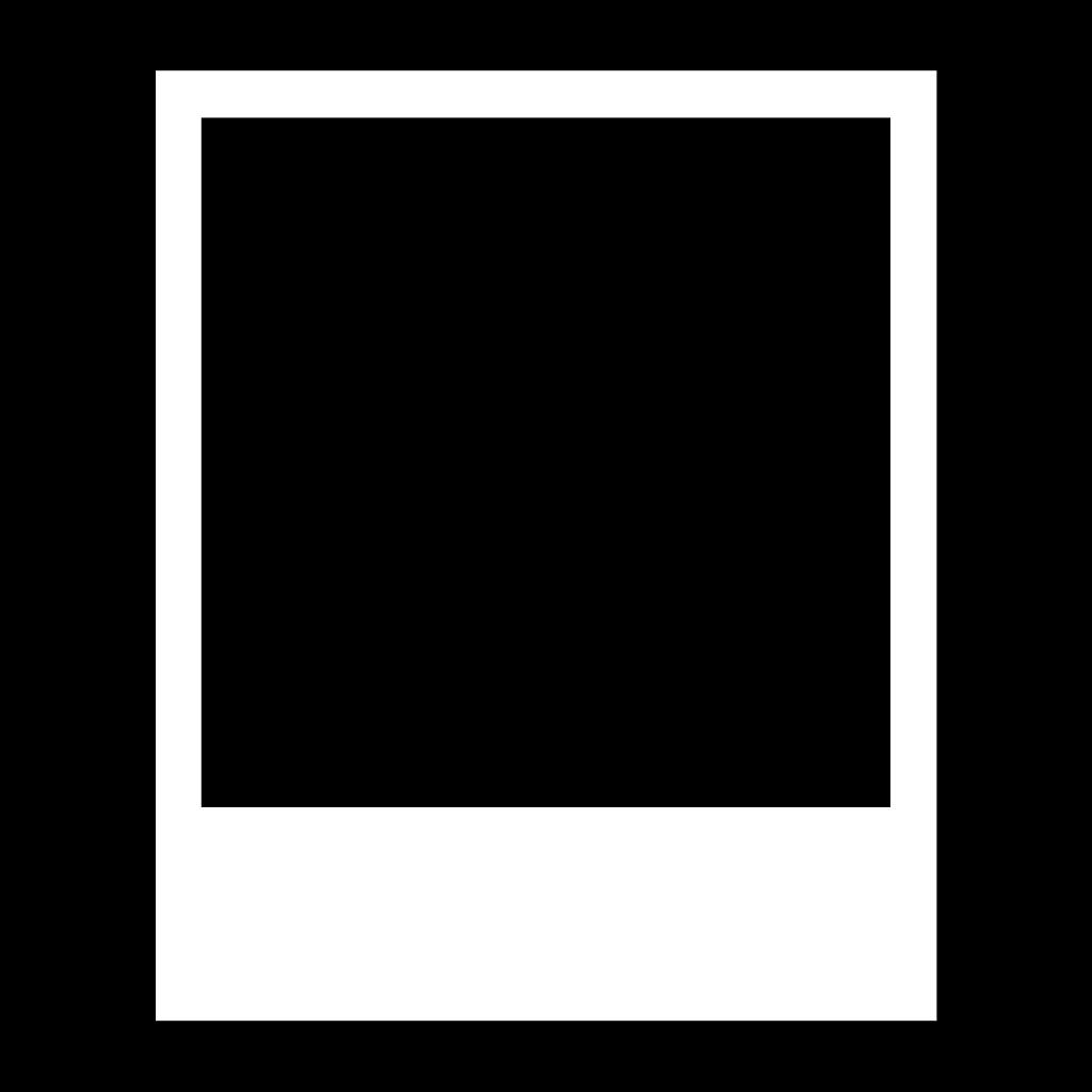 blank polaroid png - HD1024×1024