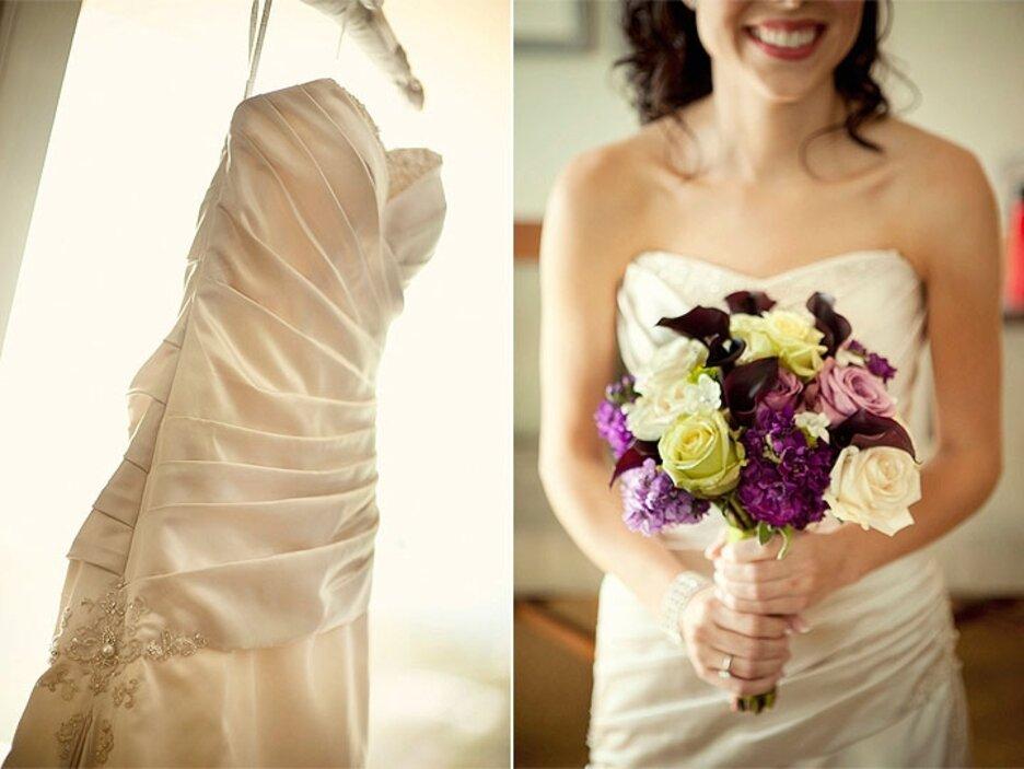Хризантем москва, какой букет подойдет к бежевому платью невесты