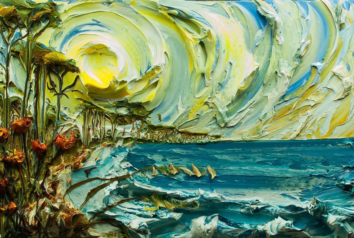 объемная картинка моря