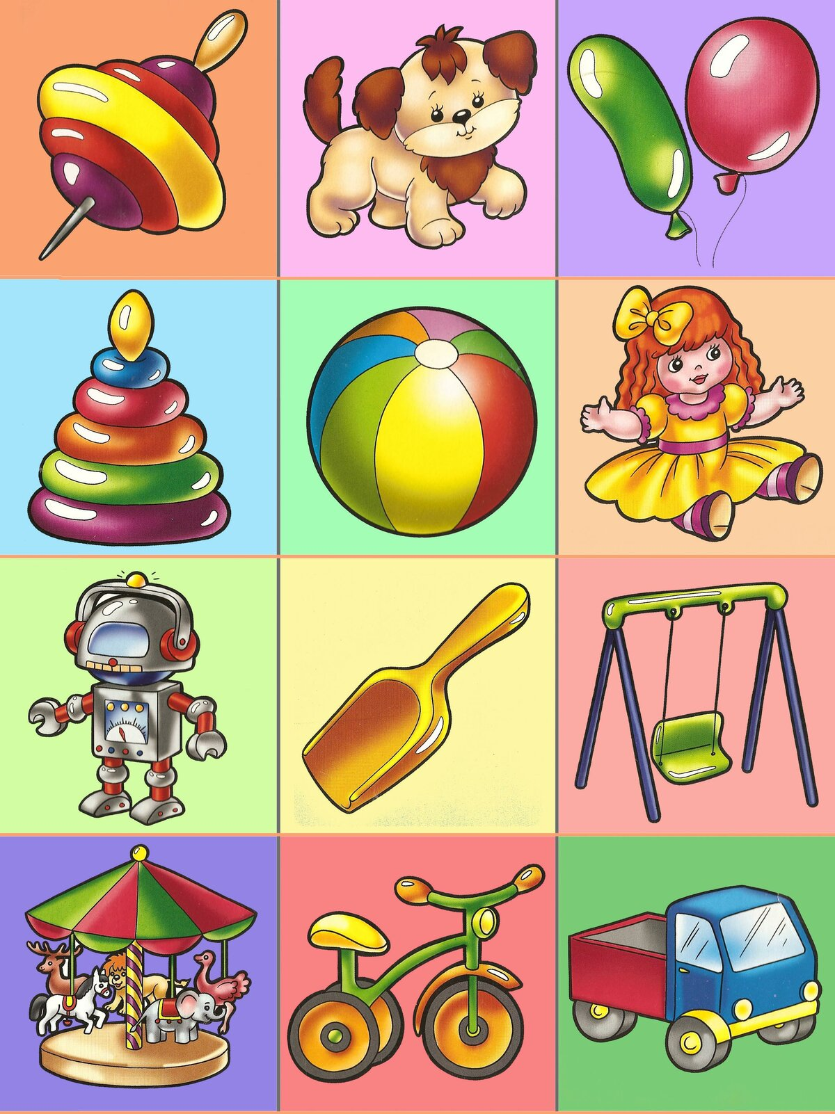 Изображение картинок игрушки
