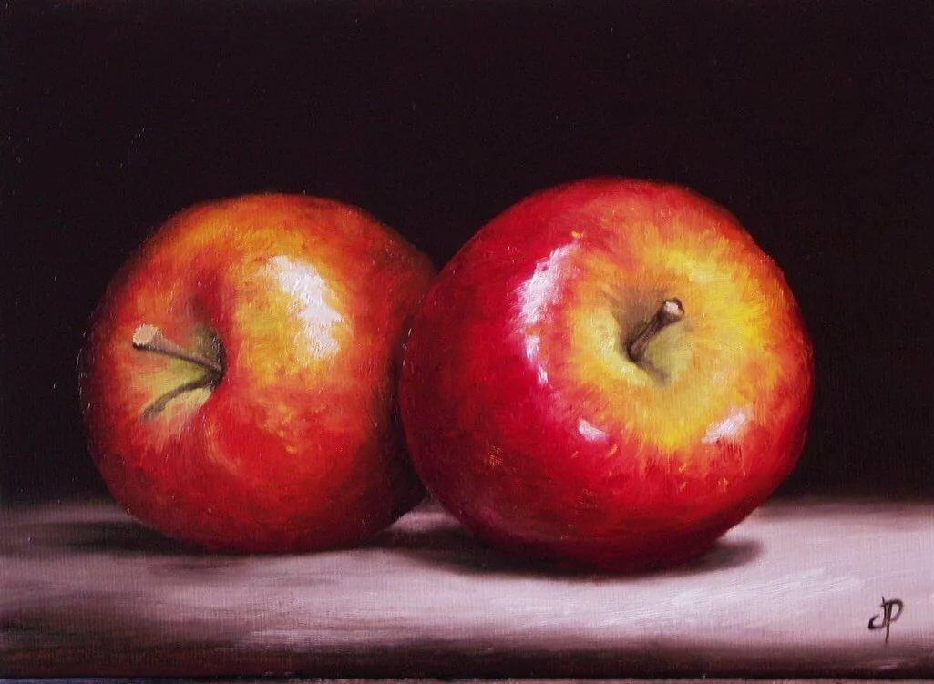 картина яблоко на руке холст фото марса- прибавляют наименованию