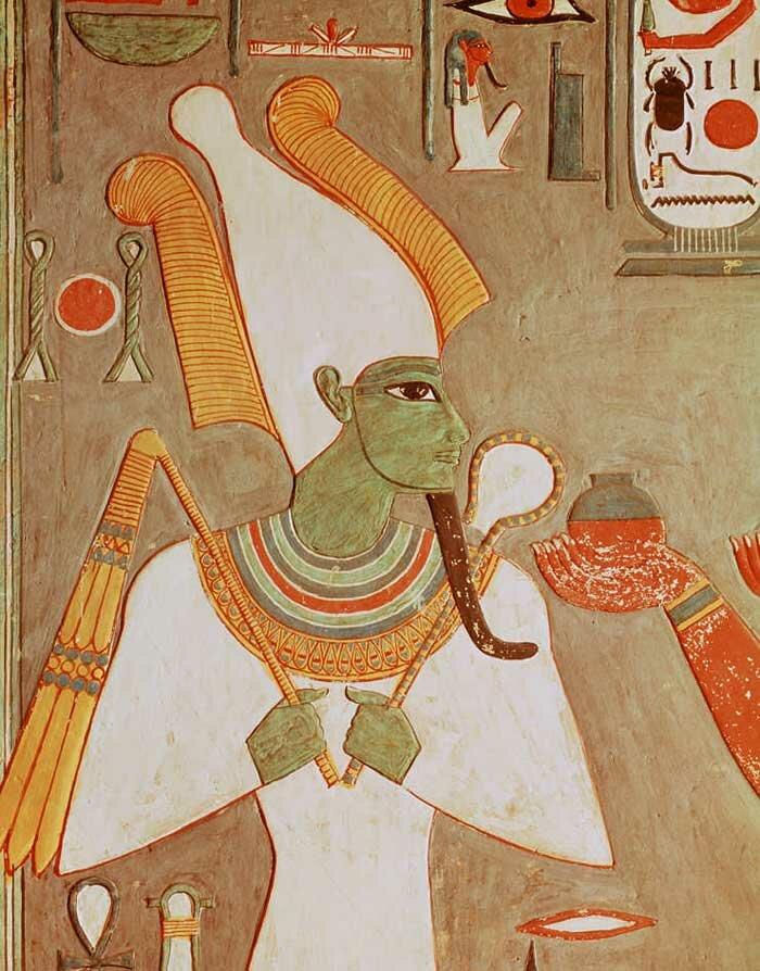 египетская мифология в картинках стены выглядят