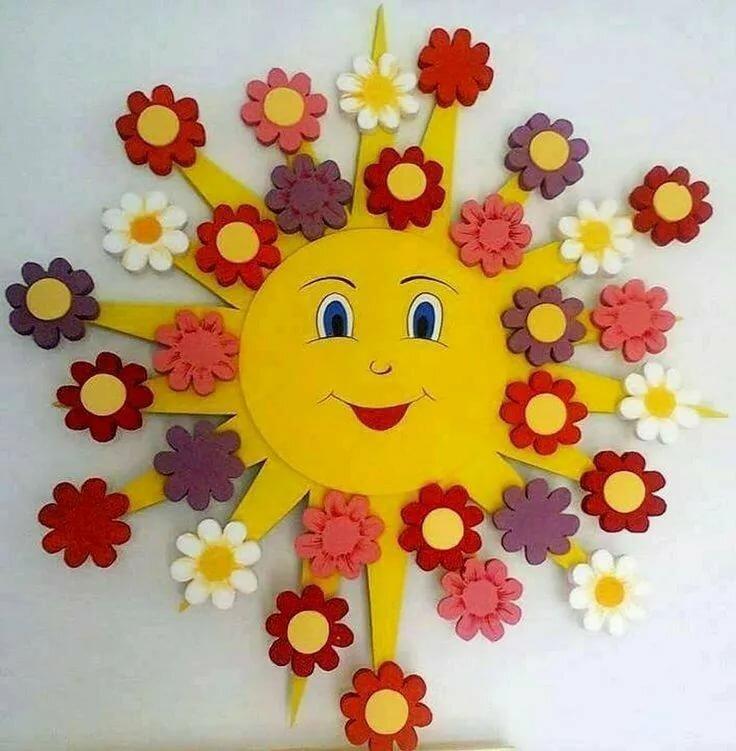 Картинки, картинки солнце своими руками