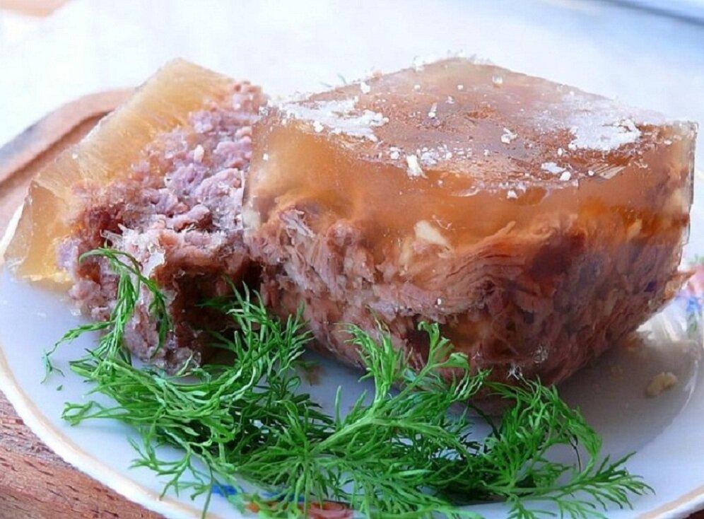 студень из говядины рецепт с фото действительно баловала