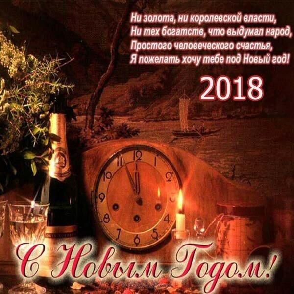 поздравления с новым годом от души мужчине территории отеля