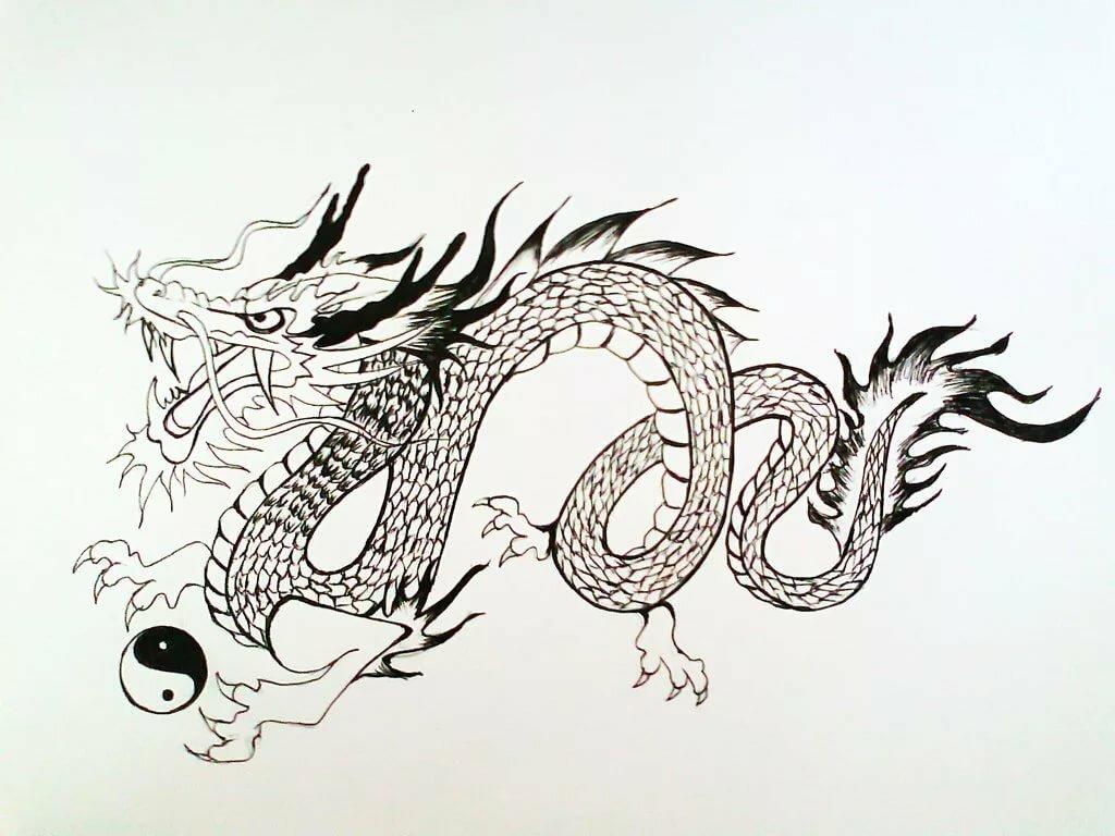 необязательно японский дракон картинки легкие хюррем султан всмете