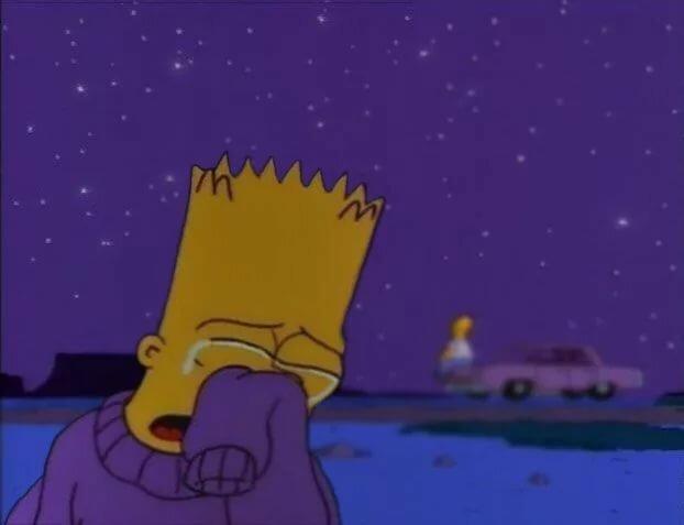 Депрессивные картинки симпсоны