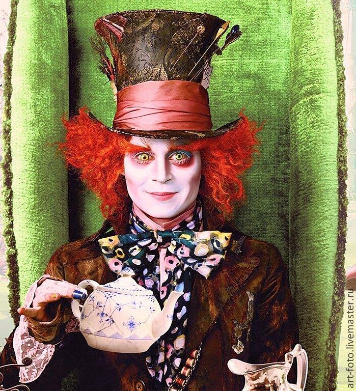 фото шляпника из алисы в стране чудес печати фото