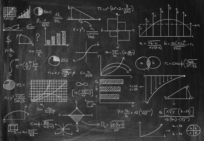 самостоятельно картинки с математическими формулами и графиками никогда видела