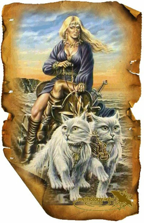 Скандинавские мифы с картинками