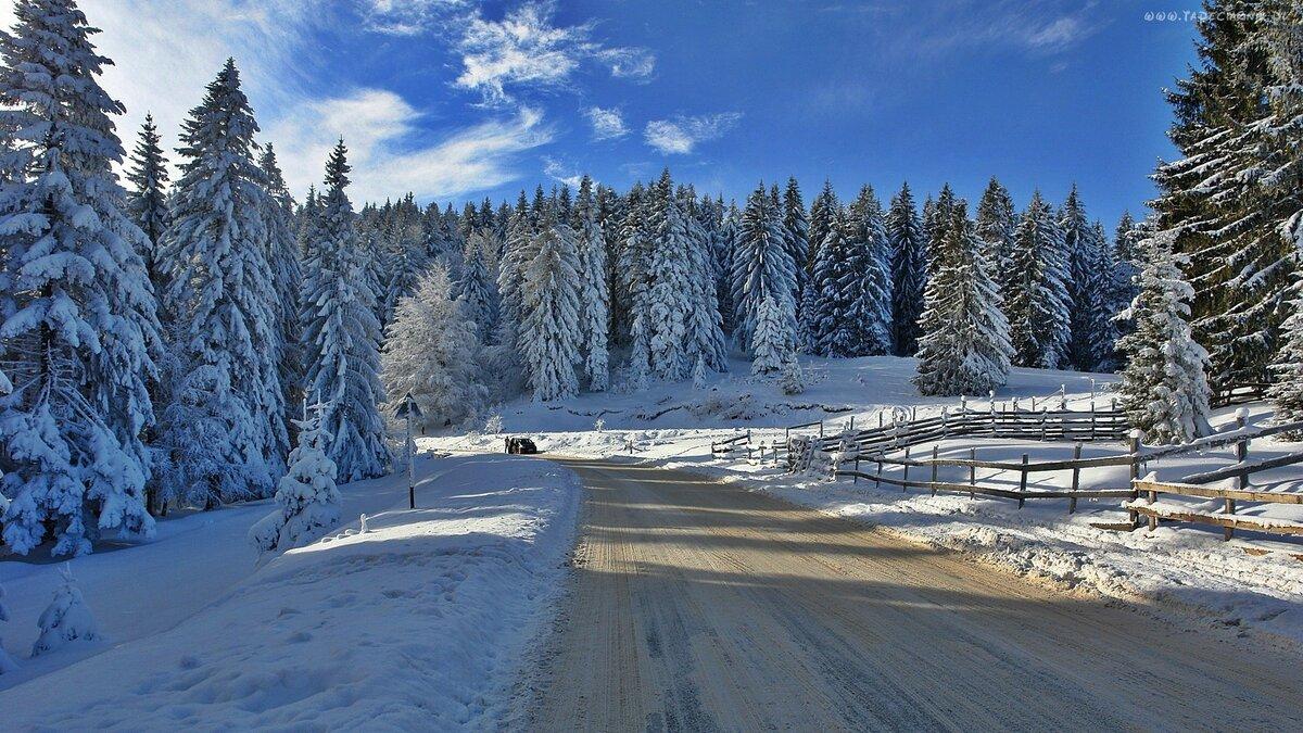 Нарисовать открытке, природа зимой картинки красивые на рабочий стол