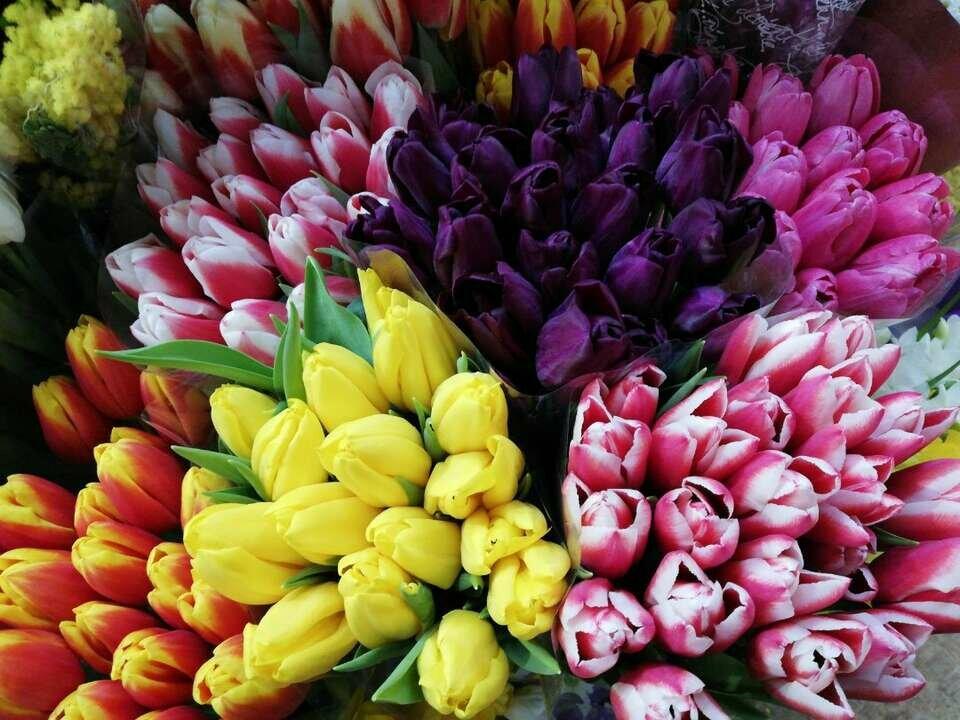 Картинки с 8 марта красивые букеты
