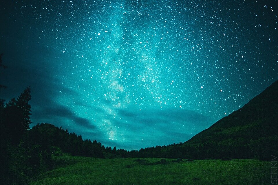 В картинках звездное небо, спасибо участие