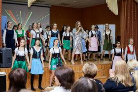 Конкурс Многоликий мир в 6-х классах гимназии №38