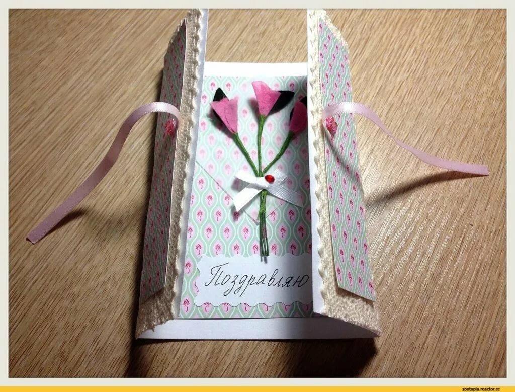 Как сделать своими руками открытку маме на день рождения, сделать открытку