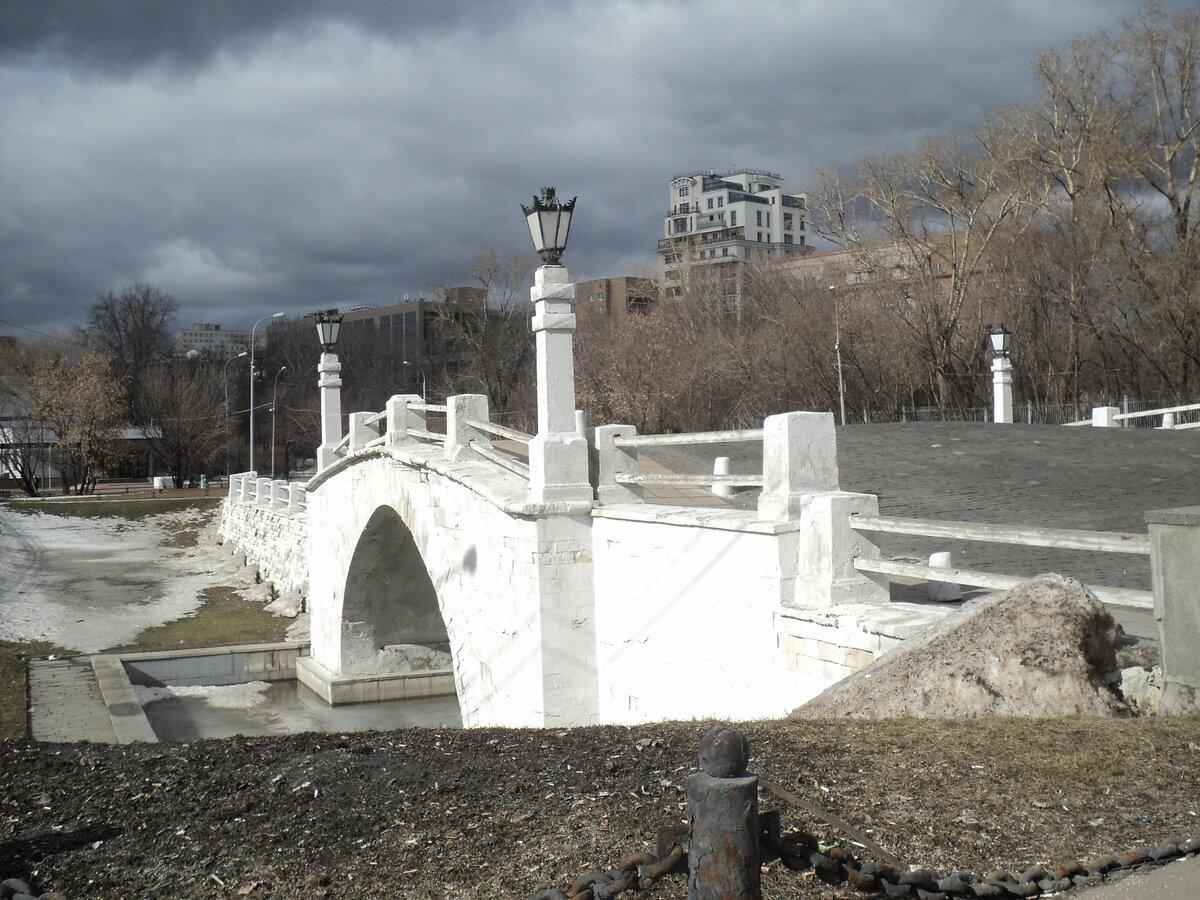 Старые фото горбатого моста москвы
