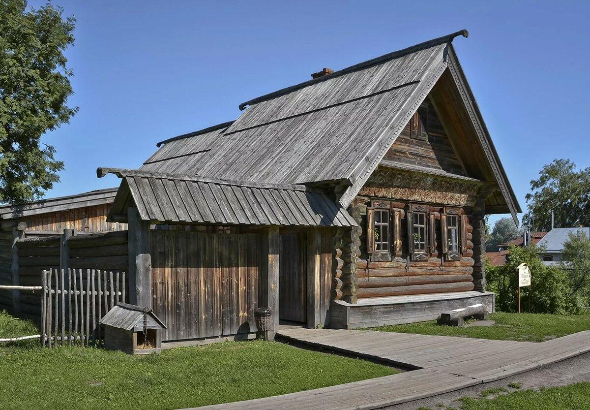 деревенские старинные дома фото корректного