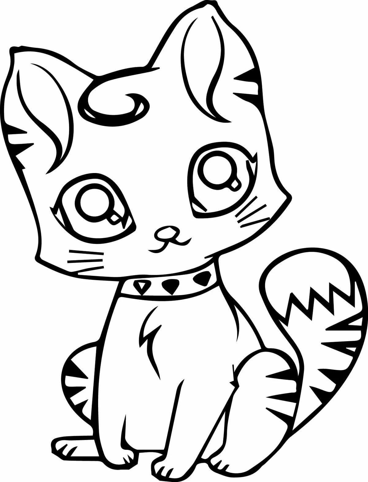 картинки намальованого котика дальше