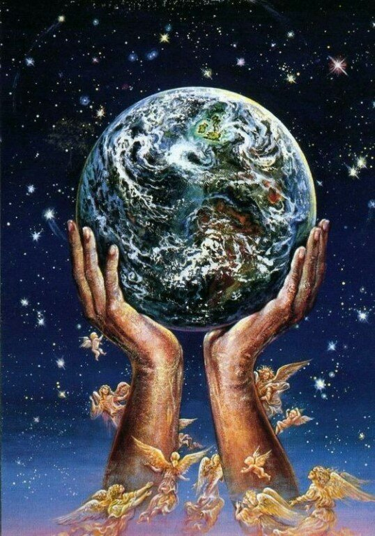Ежедневно надеясь планета открытки