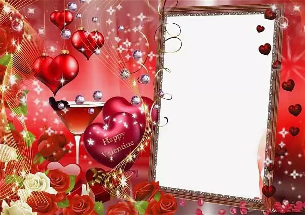 Картинки, шаблоны открыток с днем влюбленных