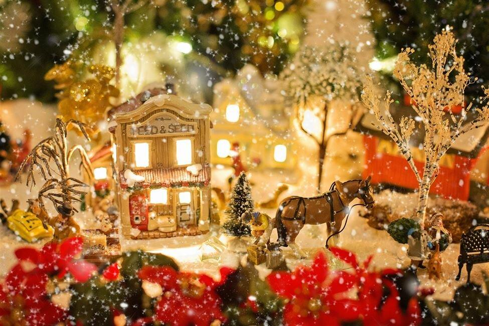 Открытки, рождественское картинки
