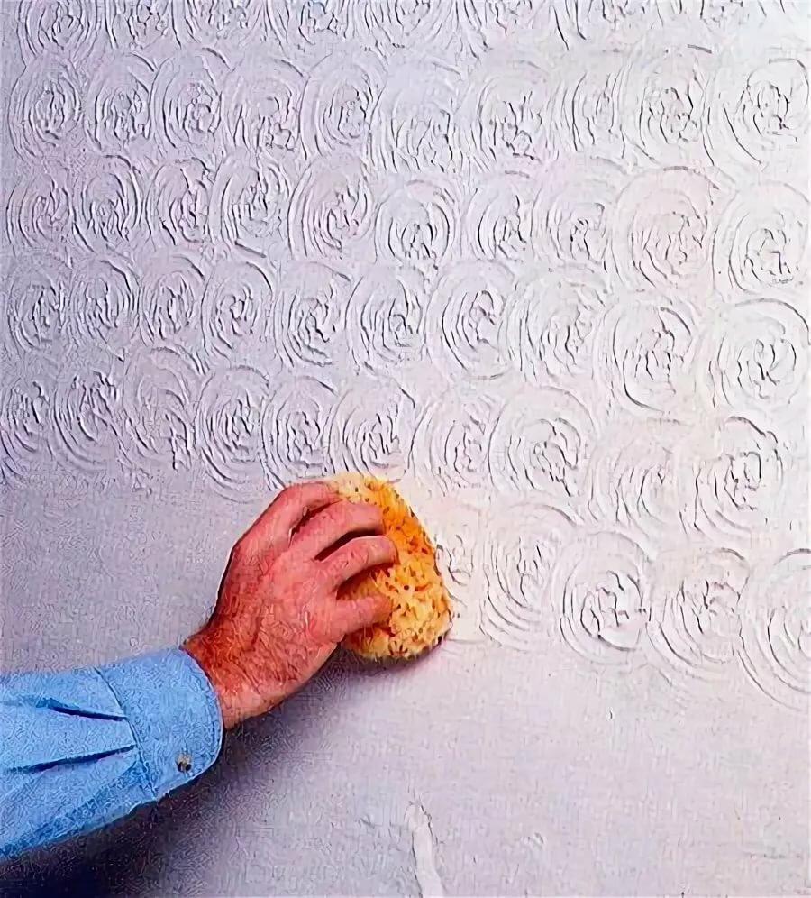 шпаклевка стен губкой