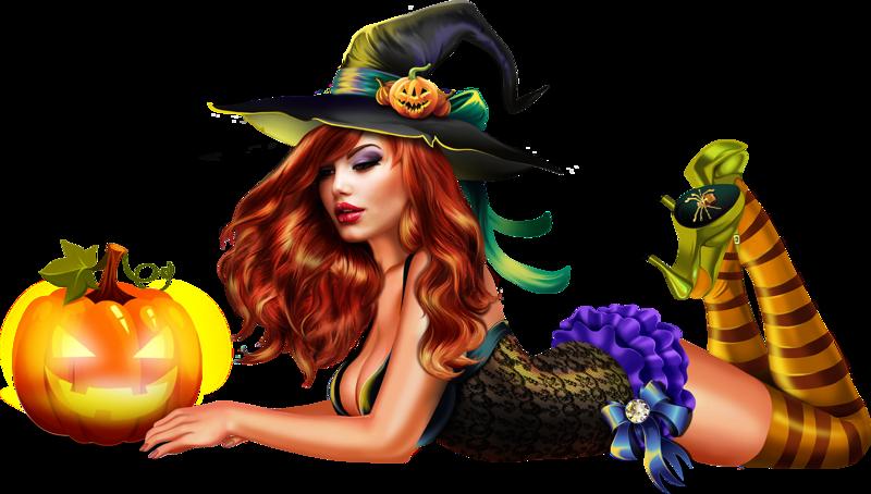 Картинки ведьмы на прозрачном фоне