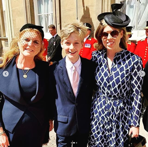 Screenshot 2019 06 02 FAN PAGE в Instagram «#new Princess Eugenie, Princess Beatrice and Sarah ferguson1 (with both Jack and[...]
