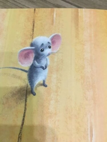 Куклы, открытка виноватая мышка