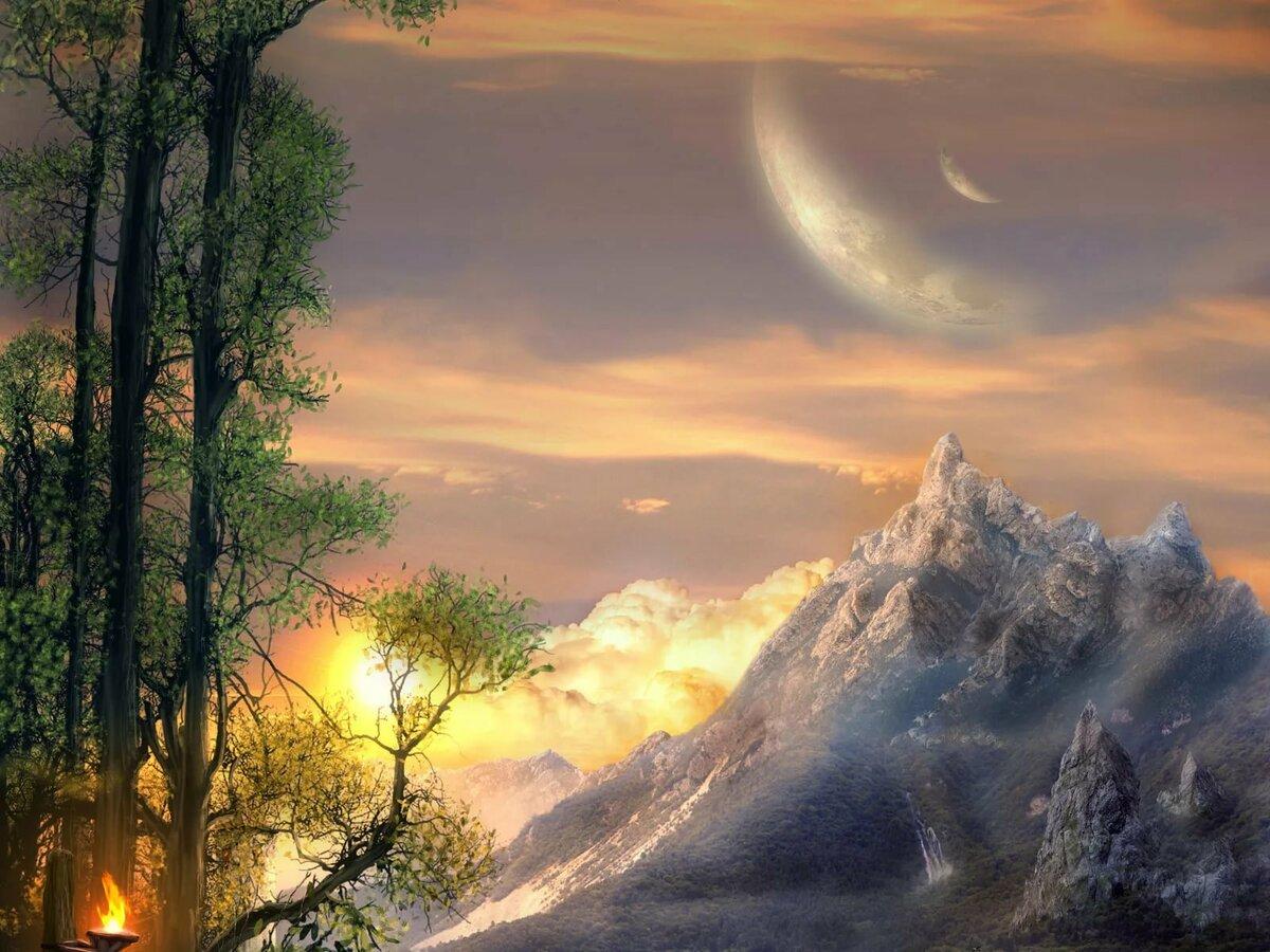 картинки фантастическое небо гиф семья очень ценят