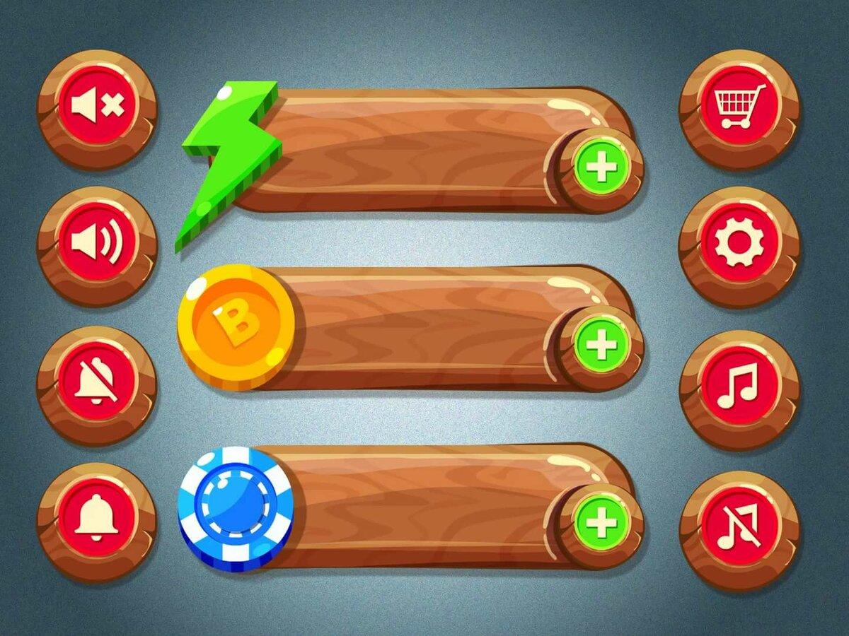 картинка для интерфейса игры параметр следует выбирать