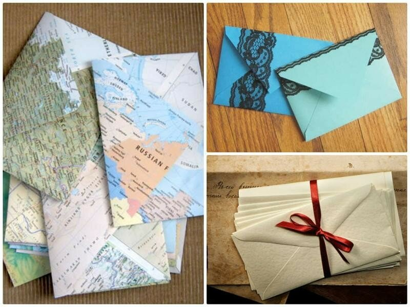 Конверт открытка как делать, рождественские открытки видео