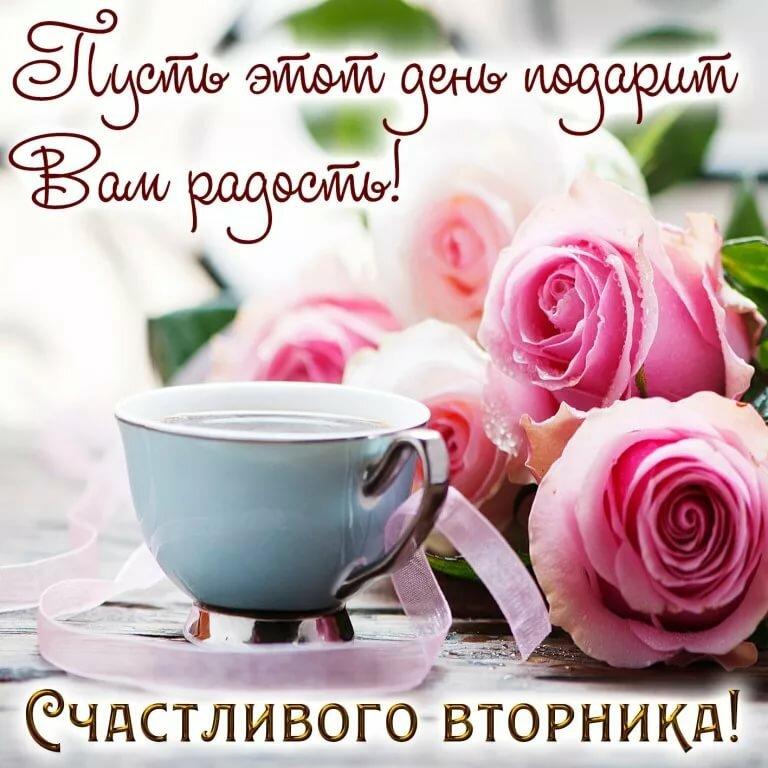Красивая открытка с добрым утром хорошего настроения счастливого дня, гифки животными вконтакте