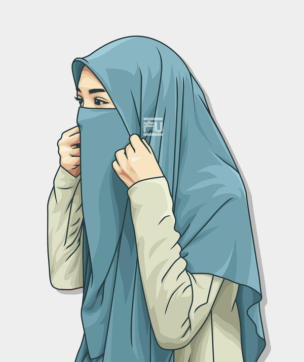 Картинки мусульманок мультяшные