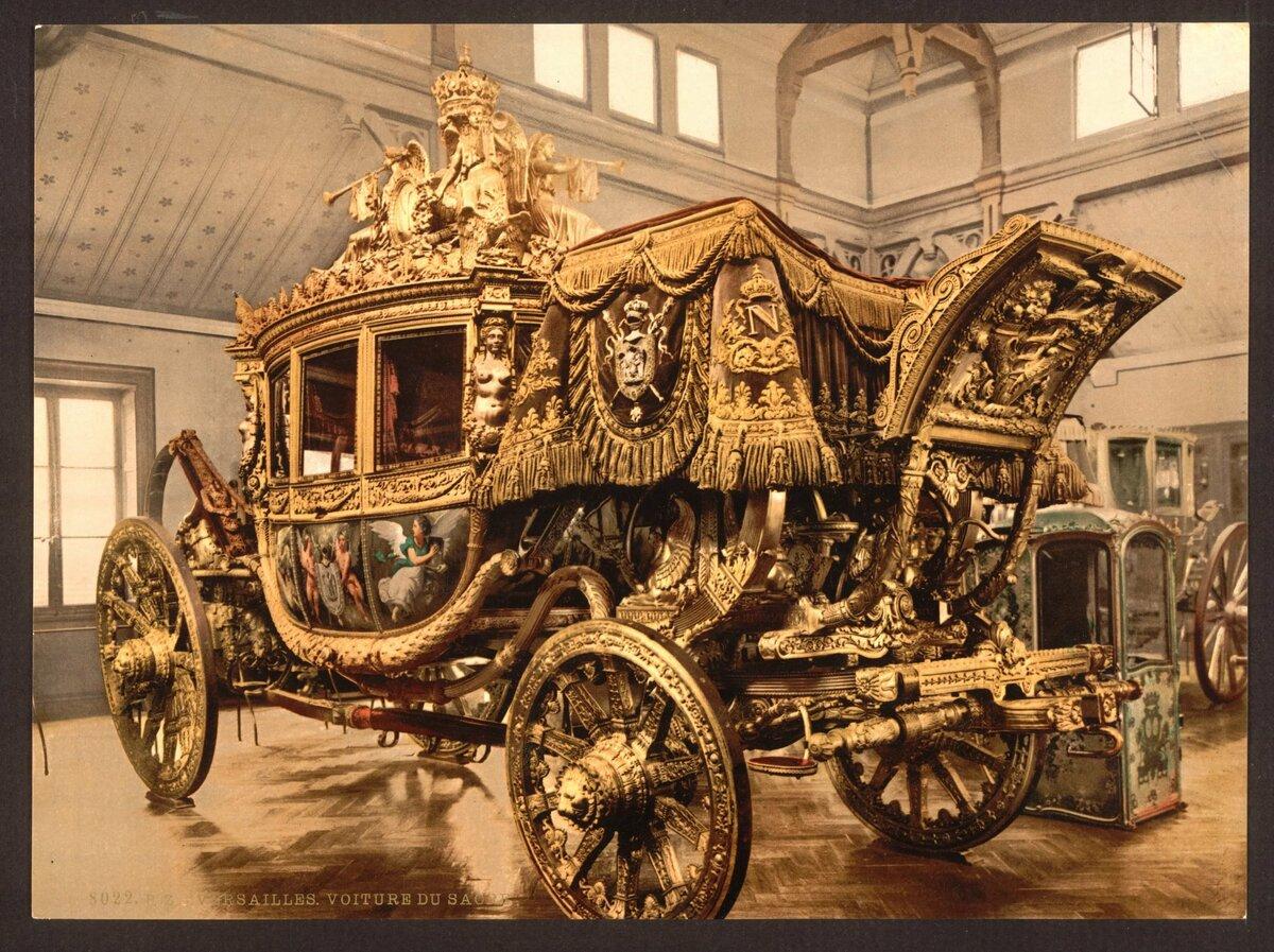 интерактивная золотая карета фото маринетт