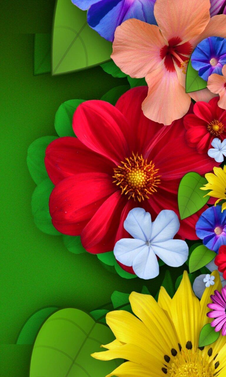 Картинки с цветами красивые для телефона